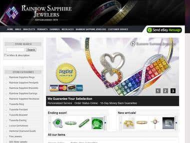 Rainbow Sapphire Jewelers Custom eBay Store