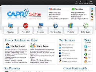 Capri Softs (Wordpress)