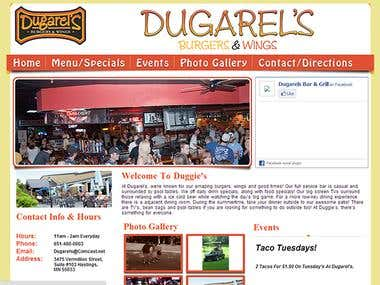 Dugarels is a Cafe site