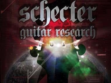 2010 Schecter Catalogue