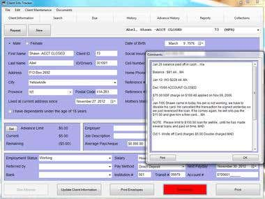 CIT (Client Info Tracker)