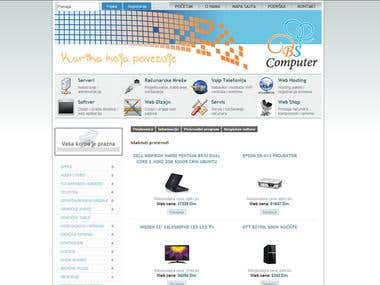 Virtuemart web shop with auto update using XML service