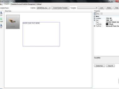 Email Sync Program