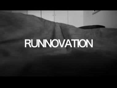 Ad film for runners