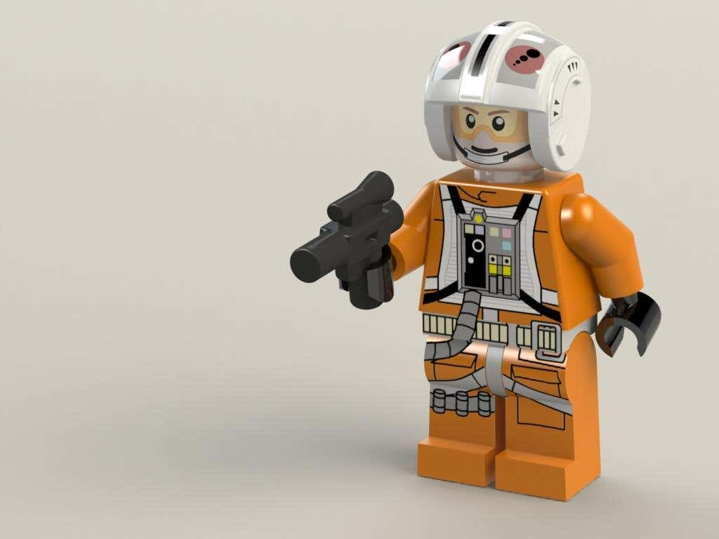 Lego Star Wars X-Wing pilot