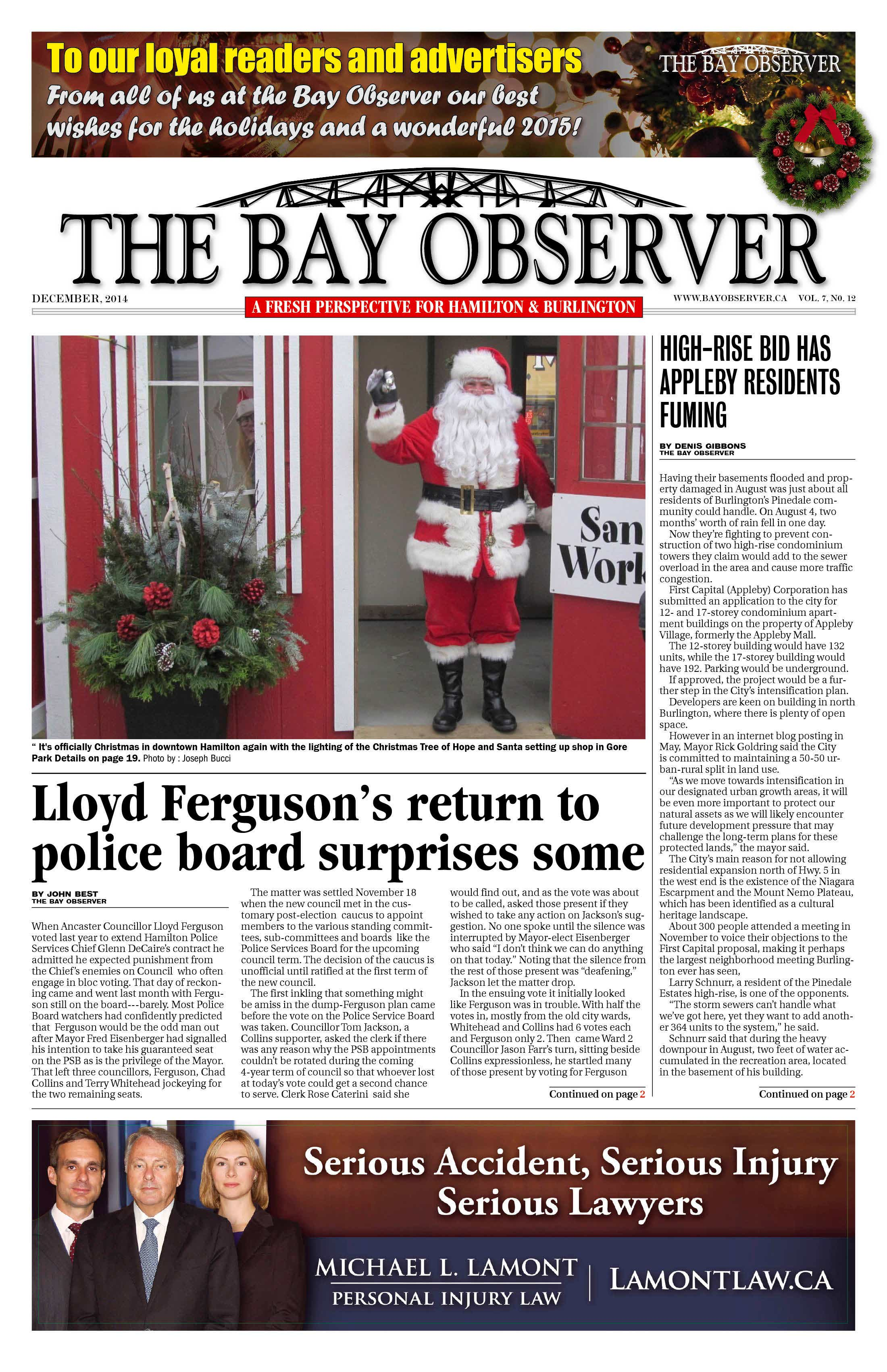 Bay Observer Newspaper