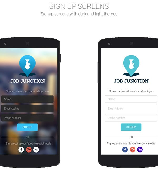 JOB JUNCTION - Job Serching App
