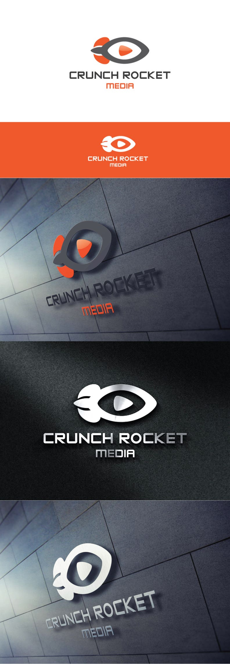 Crunch Rocket logo