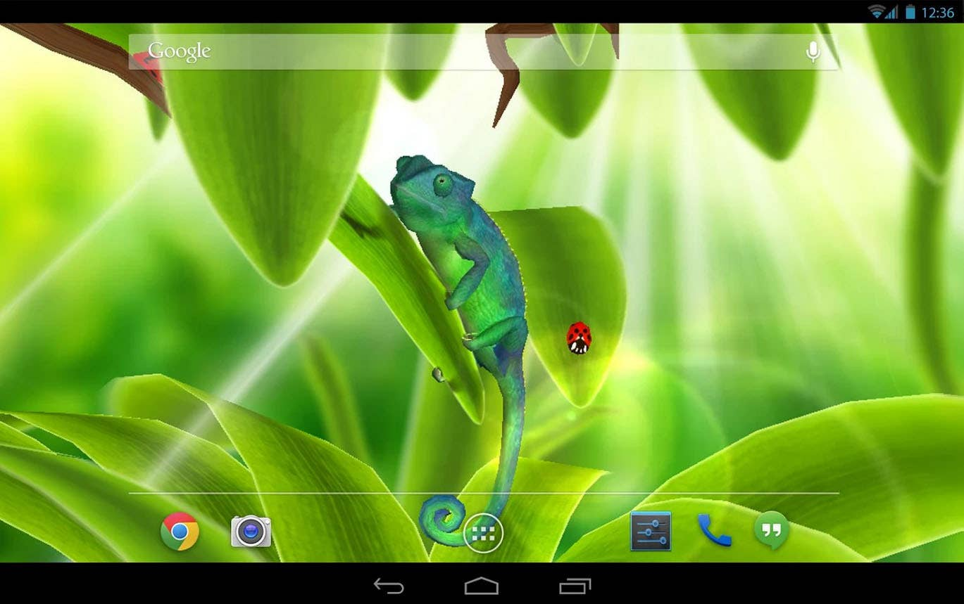 Android 3D live wallpaper