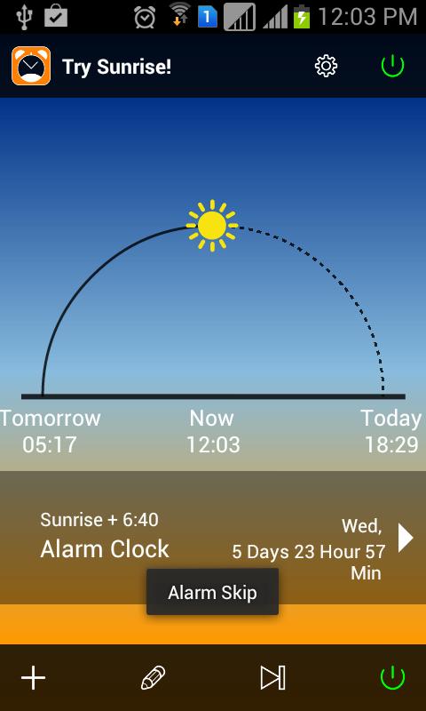 Android App : Alarm clock app