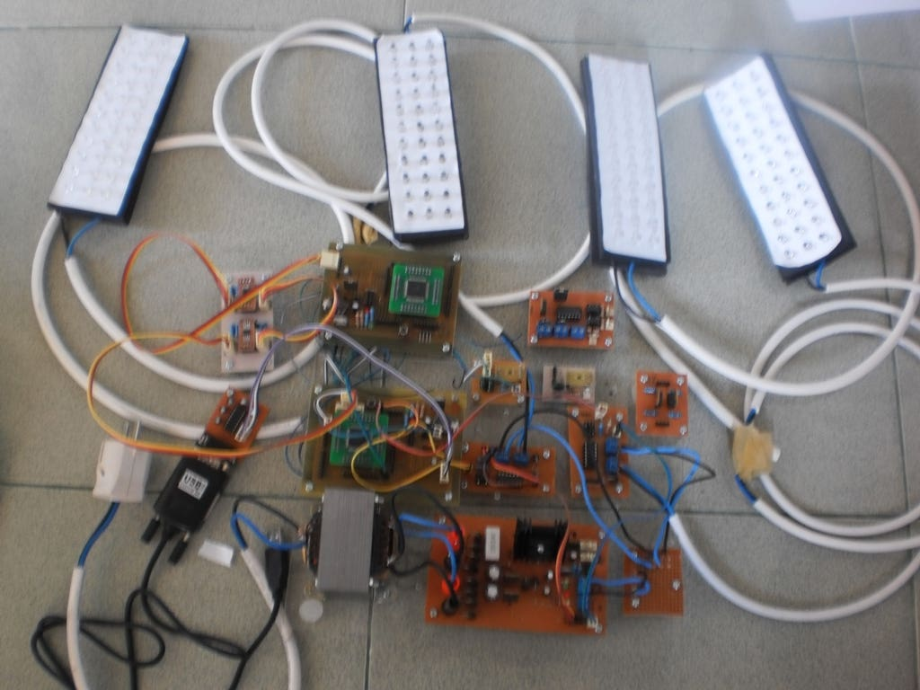 Intelligent Lighting Control (Prototype)