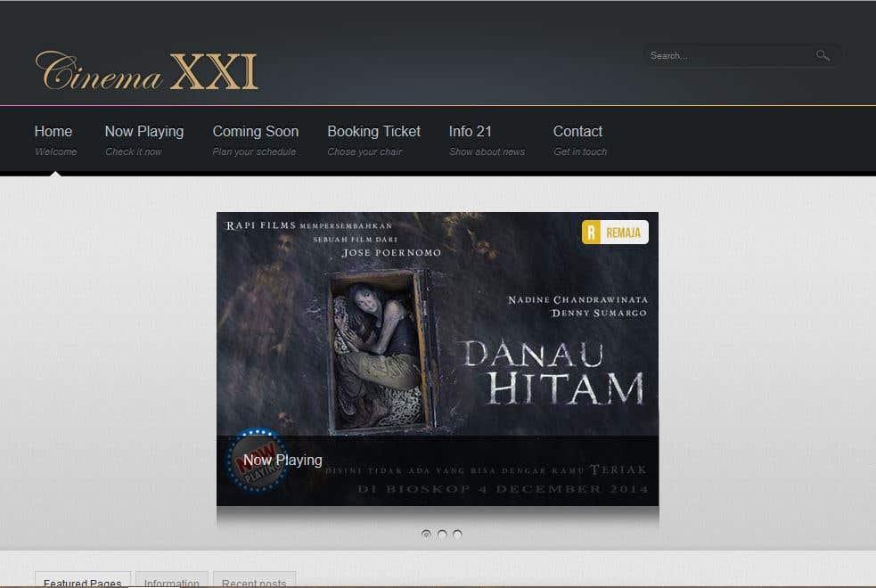 Web Cinemas With Booking Ticket