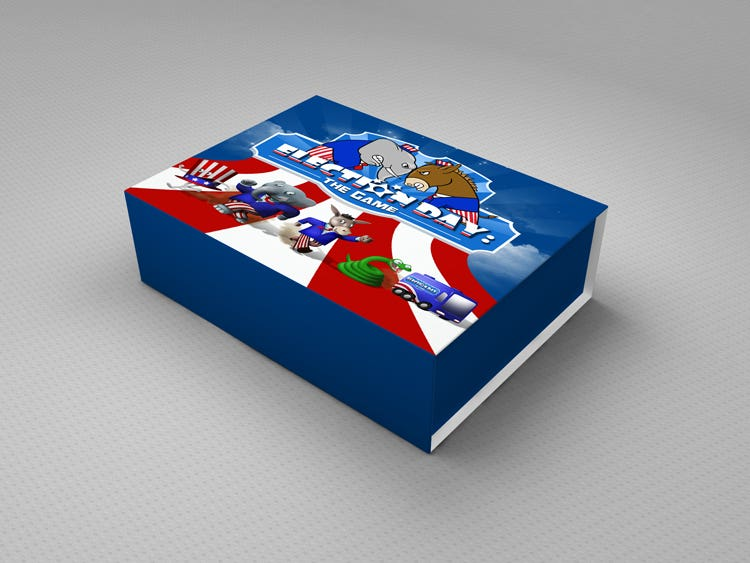 Packaging Box Design and Promotion Images for web