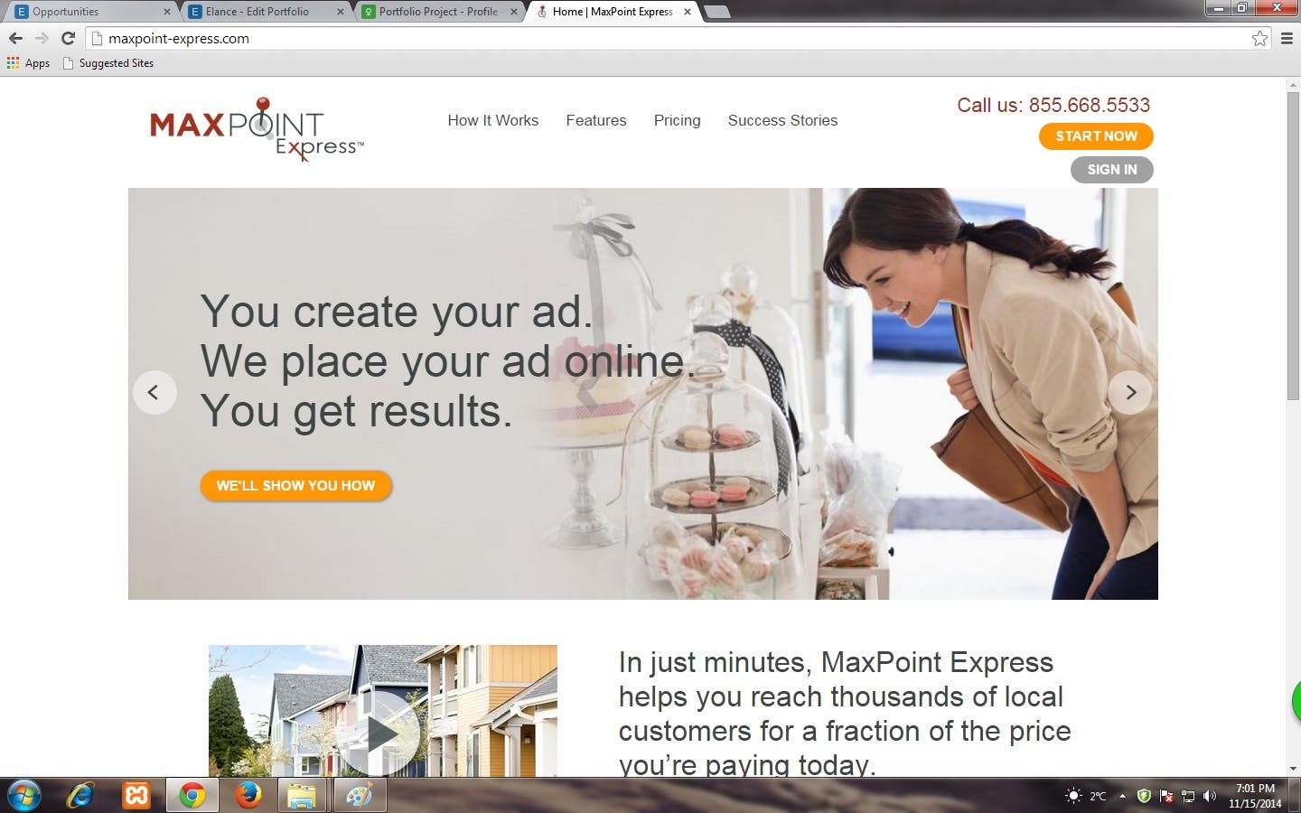 Maxpoint express Site