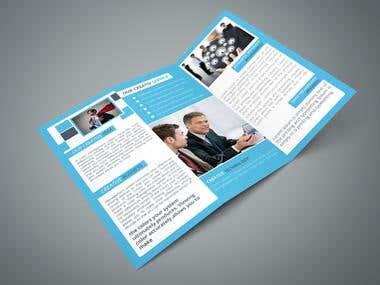 Tri-Fold Brochure Flyer