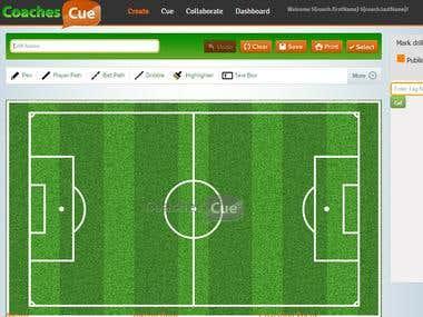 Soccer Web Application