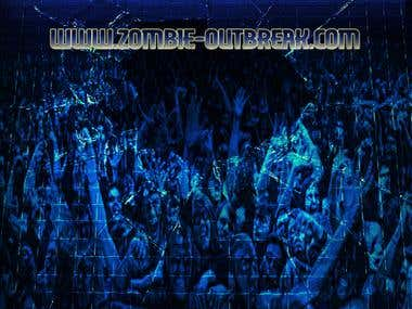 Zombie Outbreak - Video Game Poster