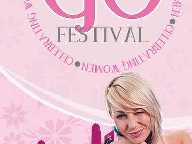 Go Festival - Pop Up Banner