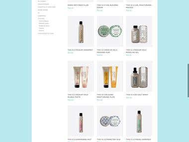 The Nest Hair Boutique Branding & Website