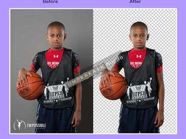 Background Removing/Masking/Clipping Path