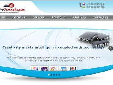 web design, web development India www.activetechnologies.net