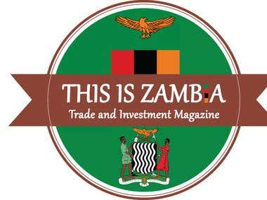 THIS IS ZAMBIA Logo Design