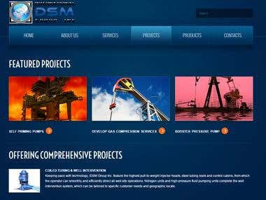 Oil & Gas Industry Website