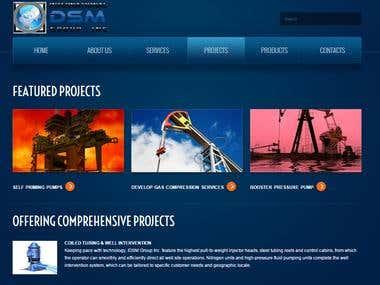 Oil & Gas Industry Website