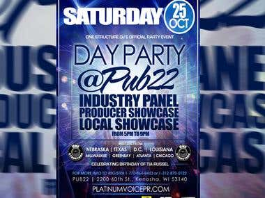 Industry Panel Showcase Flyer