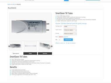 Smartbulb responsive shop