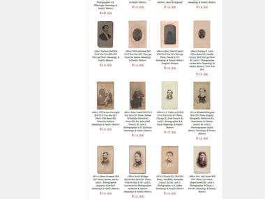 Amazon Webstore (Ancestorville - antique photograph dealer)