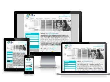 Cure Medical India - Web Designing In Html 5 , CSS 3,