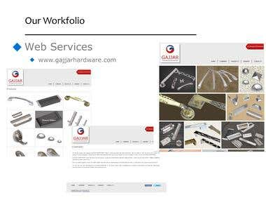 A Product Company Website