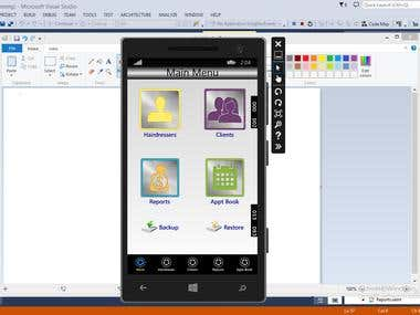 Windows mobile App