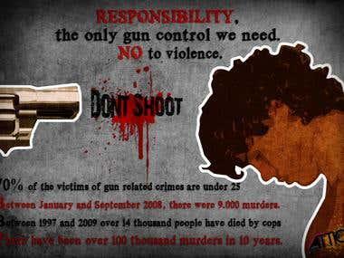 Responsibility (Gun Control Campaign - Caracas, Venezuela)