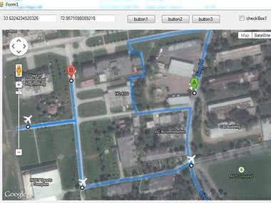 C# GPS TRACKING APPLICATION (Part of Ground Control Station)