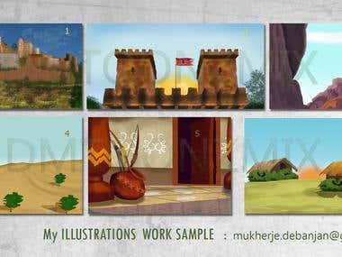our work illustartions
