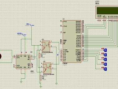 PWM direct transmission through RF for motor speed and direc
