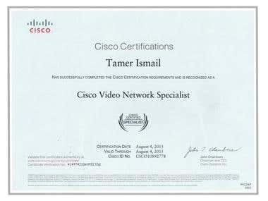 Cisco Video Network Specialist