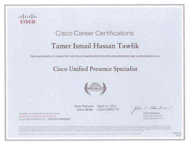 Cisco Unified Presence Specialist