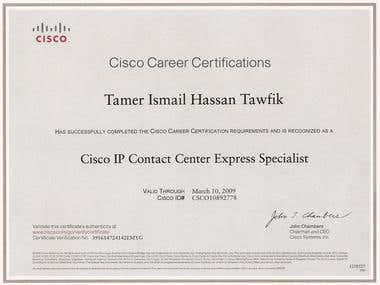 Cisco IPCC Express Specialist