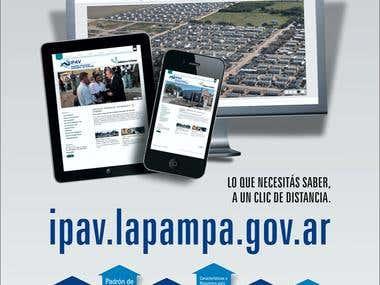 Anuncio Nueva Web IPAV