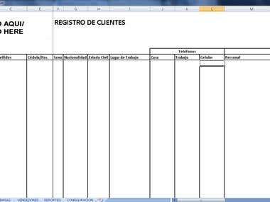 Real State Customer List/Listado de Clientes de Inmobiliaria
