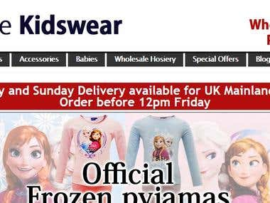 White labeled SEO On www.tradekidswear.com