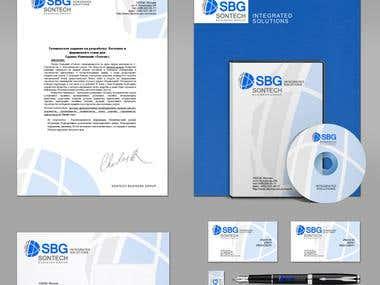 logo design and brand book
