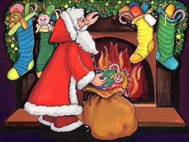 Christmas Storybook Pictures