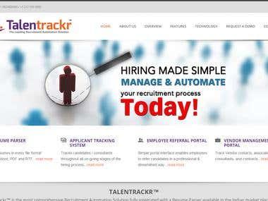 Talent acquisition portal