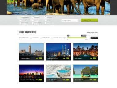 New dimension online tour planner