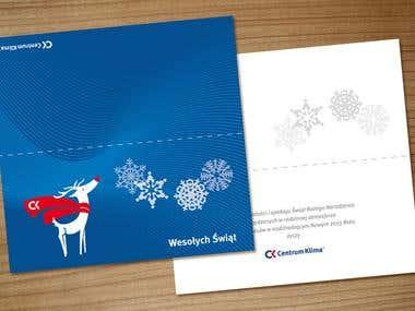Projekty kartek świątecznych