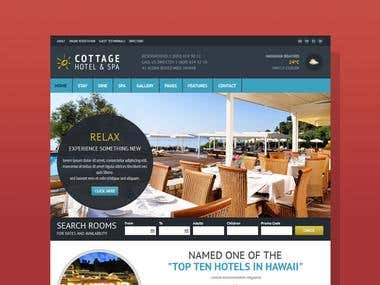 Cottage, A Responsive HTML5 Template